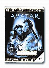 Sešit A5/544 Avatar