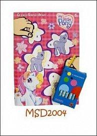 Omalovánky My Little Pony + pastelky zdarma