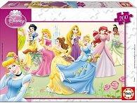 Puzzle Disney Princezny 200 dílků