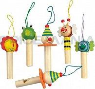 Dřevěná píšťalka - 6 druhů