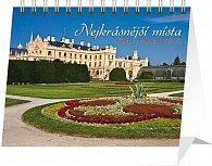 Kalendář 2013 stolní - Nejkrásnější místa Čech a Moravy Praktik, 16,5 x 13 cm