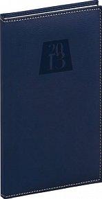 Diář 2013 - Grande - Kapesní, tmavě modrá, 9 x 15,5 cm