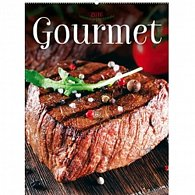 Kalendář nástěnný 2016 - Gourmet, 48 x 64 cm