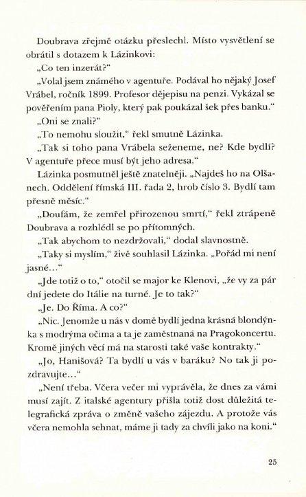 Náhled Tajemství houslového klíče - Kriminální příběh z roku 1976
