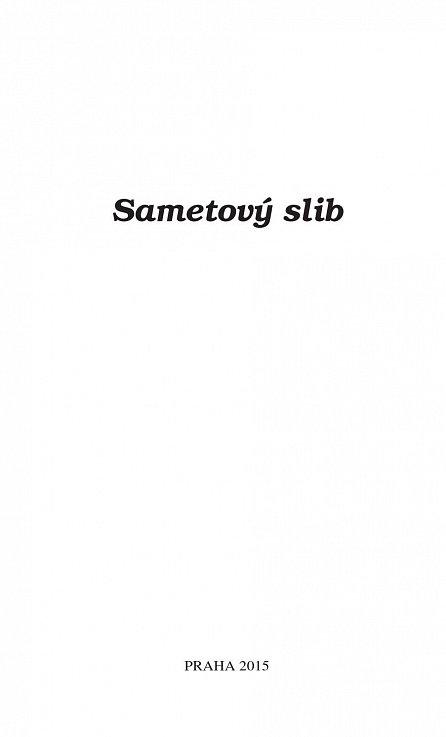 Náhled Sametový slib