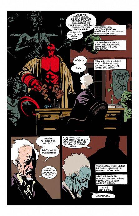 Náhled Hellboy: Pekelná knižnice kniha první