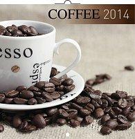 Kalendář 2014 - Káva - nástěnný poznámkový (ČES, SLO, MAĎ, POL, RUS, ANG)