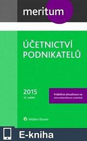 meritum Účetnictví podnikatelů 2015 (E-KNIHA)