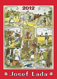 Kalendář nástěnný 2012 - Josef Lada - Léto, 33 x 46 cm