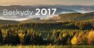 Beskydy 2017 - stolní kalendář