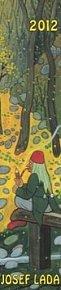 Kalendář nástěnný 2012 - Josef Lada - Vodník, 10,5 x 48 cm