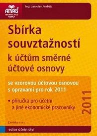 Sbírka souvztažností k účtům směrné účtové osnovy 2011
