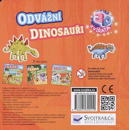 Náhled Odvážní dinosauři - Čtyři zábavné modely