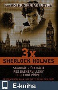 3 x Sherlock Holmes (E-KNIHA)
