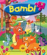 6x puzzle Bambi