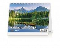 Kalendář stolní 2016 - Obrázky ze světa