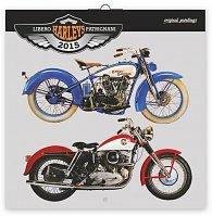 Kalendář 2015 - Harleys Libero Patrignani - nástěnný (GB, DE, FR, IT, ES, NL)