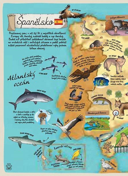 Náhled Atlas zvířat celého světa