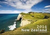 Kalendář nástěnný 2016 - New Zealand
