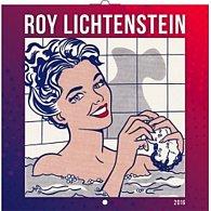 Kalendář nástěnný 2016 - Roy Lichtenstein, poznámkový  30 x 30 cm