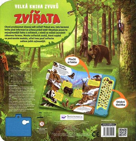 Náhled Zvířata - Velká kniha zvuků