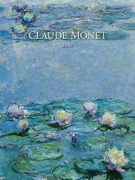 Claude Monet 2017 - nástěnný kalendář