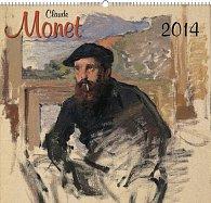 Kalendář 2014 - Claude Monet - nástěnný s prodlouženými zády
