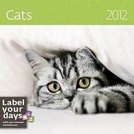 Kalendář nástěnný 2012 - Kočky