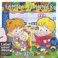 Kalendář nástěnný 2013 - Family Planner