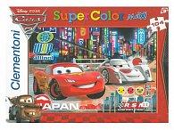 Puzzle Maxi Auta 2 závod 104 dílků