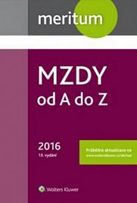 Mzdy od A do Z 2016