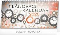 Kalendář stolní 2020 - Plánovací, 25 × 12,5 cm