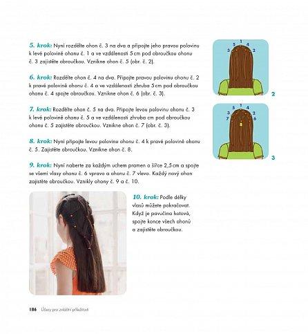 Náhled Nejkrásnější dívčí účesy - Stříhání a úpravy dívčích vlasů, které zvládnete doma