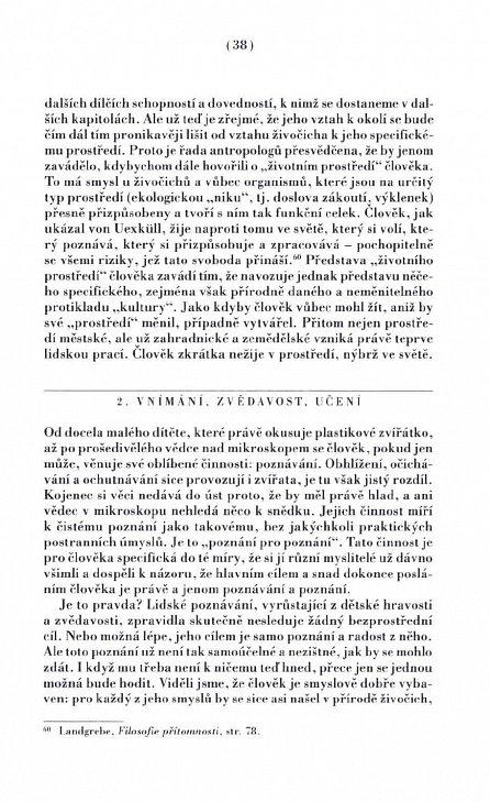 Náhled Člověk jako osoba - Filosofická antropologie