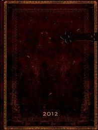 Diář Black Moroccan VER 2012