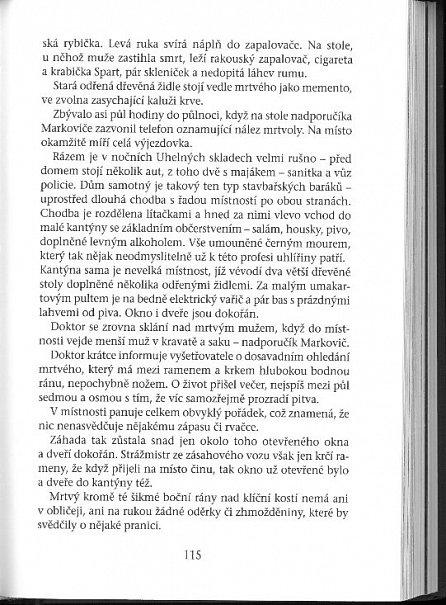 Náhled Kriminalista Jiří Markovič - Legenda pražské mordparty deviantům na stopě
