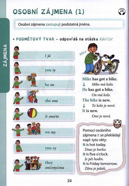 Náhled Angličtina barevná gramatika + CDmp3