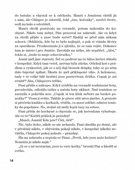 Náhled Mančí a Jonáš: Kočičí příběh