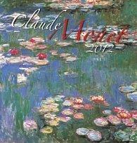 Kalendář nástěnný 2012 - Claude Monet, 44 x 46 cm