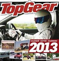 Kalendář 2013 poznámkový - Top Gear, 30 x 60 cm