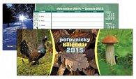 Poľovnícky kalendár 2015 Stolový kalendár