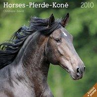 Koně Christiane Slawik 2010 - nástěnný kalendář