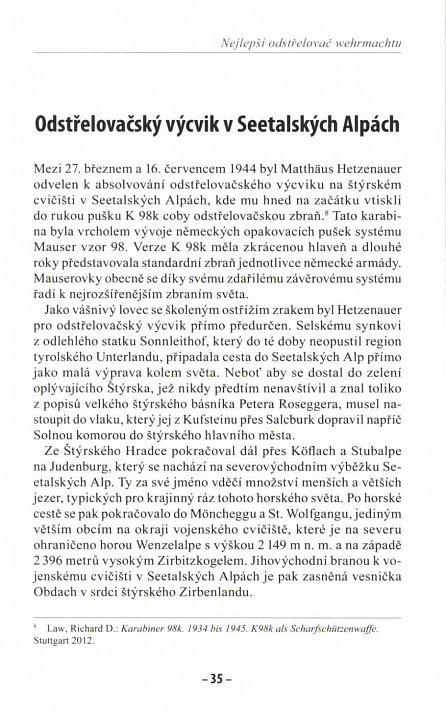Náhled Nejlepší odstřelovač wehrmachtu Matthäus Hetzenauer