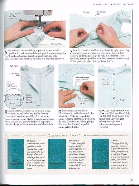 Náhled Encyklopedie šití - Praktický průvodce technikami šití