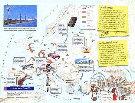 Náhled Můj první atlas Evropy aneb putování Vítka a Štěpánky
