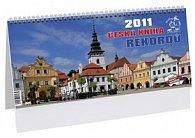 Česká kniha rekordů Pelhřimov-město rekordů 2011 - stolní kalendář