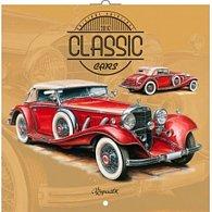Kalendář nástěnný 2016 - Classic Cars - Václav Zapadlík, poznámkový  30 x 30 cm