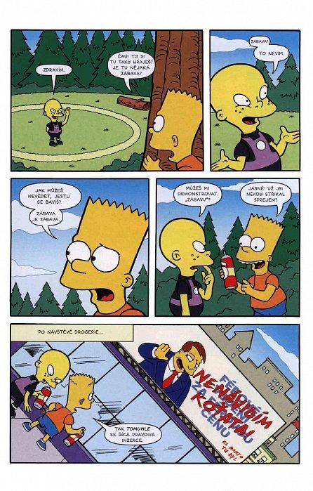 Náhled Simpsonovi - Bart Simpson 5/2016 - Čahoun tahoun