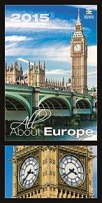 Kalendář nástěnný 2015 - All About Europe