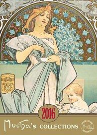 Kalendář 2016 - Alfons Mucha 33 x 46 cm